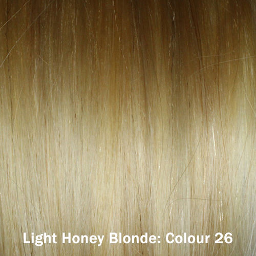 Full Head Clip-In Remy Hair Extension Wefts : Remy Hair Wefts - Light ...